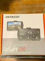 "Papago GoSafe 230 Full HD 1080p Dash Camera 3"" LCD Screen-Brand New"