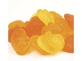 Gummi Pumpkins gummy pumpkins Fall Halloween candy orange yellow 2 pounds - £23.18 GBP