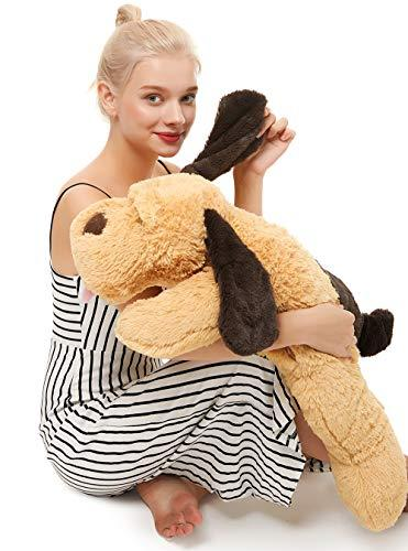 MaoGoLan Giant Stuffed Puppy Dog Big Plush Extra Large Stuffed Animals Soft Plus