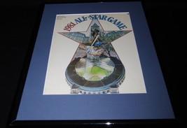1981 MLB All Star Game Framed 11x14 ORIGINAL Program Cover Cleveland Sta... - $32.36