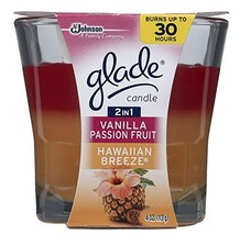 Glade Scented Candle-Hawaiian Breeze/Vanilla Passion Fruit-4 oz. - $9.99