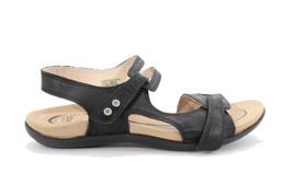 Abeo Crescent Strap Sandals Black Size US 7 Metatarsal Footbed () 3878 - $110.00