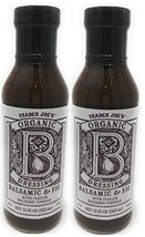 Trader Joe's - Organic Balsamic & Fig Dressing NET 12 FL OZ 355 ml - 2-PACK