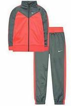NEW Girls Nike Track Warm-Up Jacket, Cool Grey Size 3T - $16.86