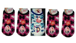 Disney Micky Ankle Socks (Size 7-10) Fuzzy No Show With Grippers - $6.67