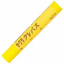 Sakura Color pastel Futoshimaki LP rose # 3 yellow - $5.20