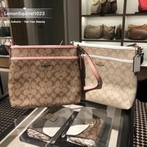NWT Coach F29210 Signature File Crossbody Handbag Authentic - $89.00