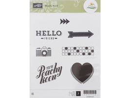 Stampin' Up! Peachy Keen Rubber Stamp Set #133113