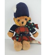 Keel Toys Simply Soft Collection Scottish Piper Bear Collector's Item - $26.03