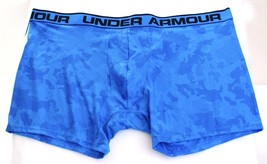 "Under Armour Original Blue Printed 6"" Boxerjock Boxer Brief Underwear Me... - $19.49"