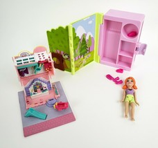 Polly Pocket 1993 Toy Shop Dollhouse No Figures 2009 Adventure Box Incomplete - $12.64