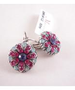 Mariana Swarovski Crystal Flower Blossom Earrings 1029-803 NWT - $53.28