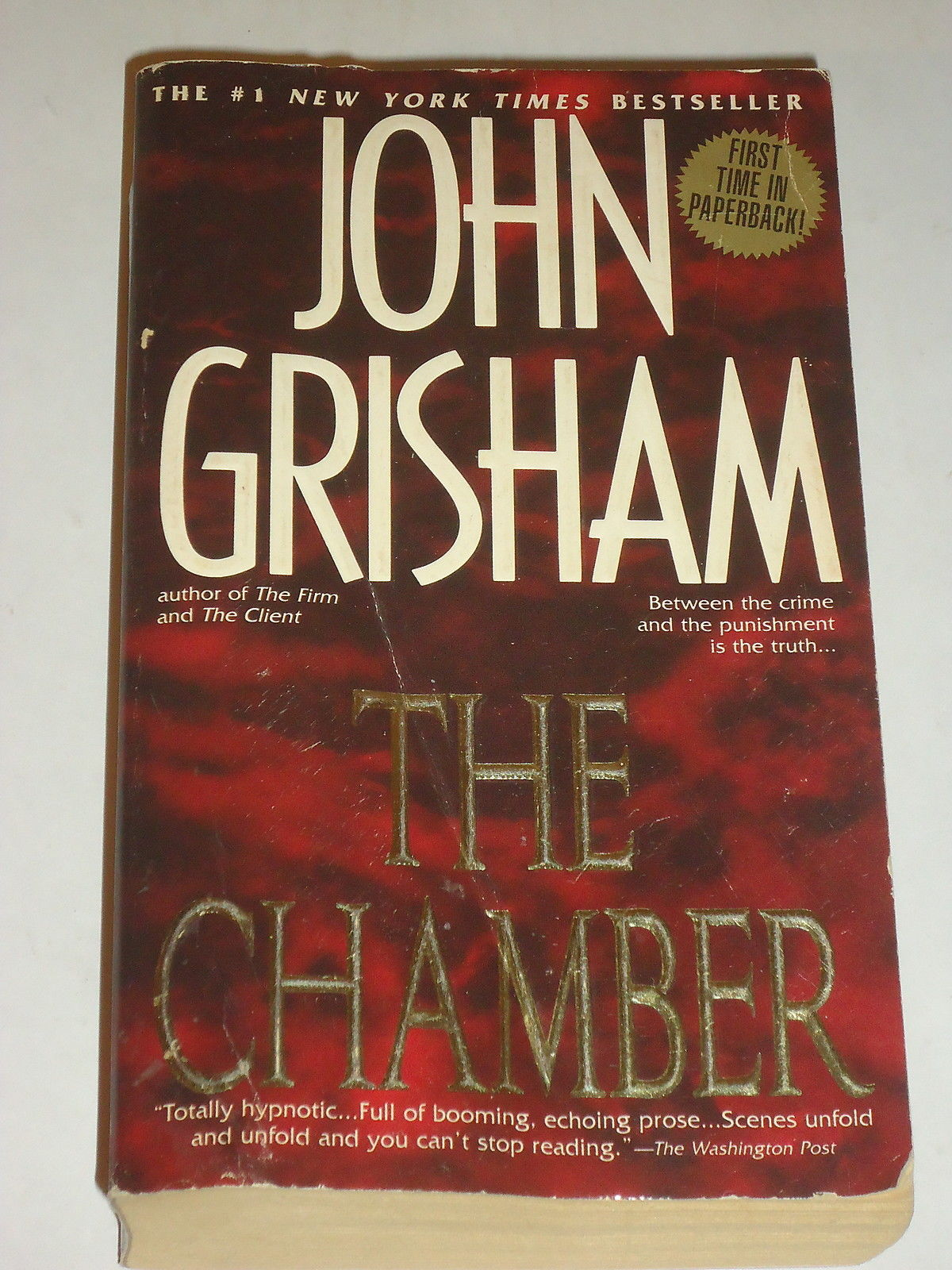 the chamber john grisham book report Full book notes and study guides sites like sparknotes with a the chamber study guide or cliff notes also includes sites with a short overview, synopsis, book report, or summary of john grisham's the chamber.