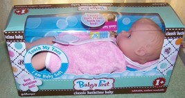 """Goldberger Baby's First Classic Bathtime 10""""L Baby Doll 1 Year+ New - $16.34"""