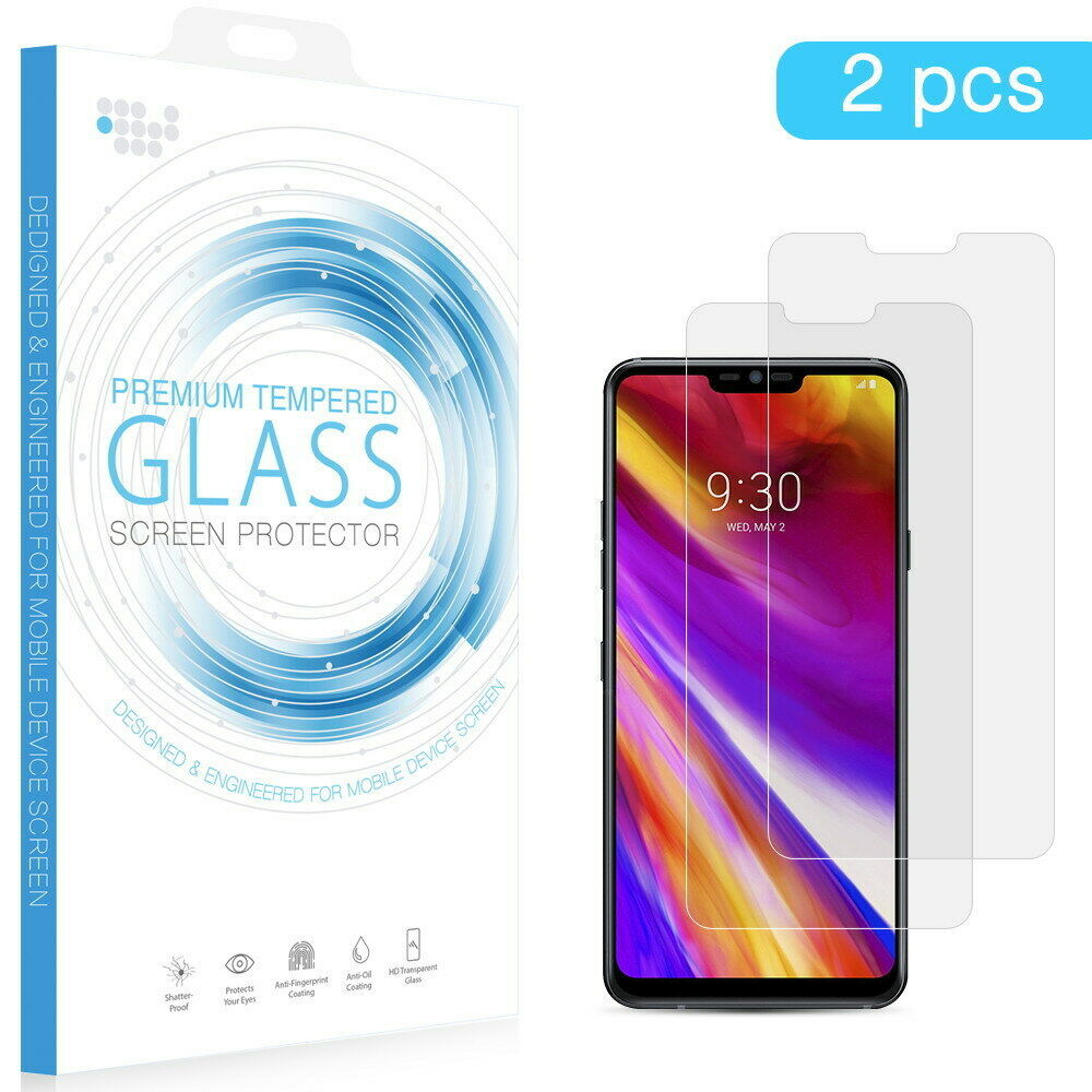 Primary image for LG G7 ThinQ TEMPERED GLASS SCREEN PROTECTOR 0.33MM ARCING 2PCS