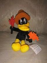 "Looney Tunes Year Pilgrim Daffy Duck Beanbag Plush November 7"" Thanksgiv... - $16.82"