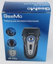 GeeMo RS-9102 Three Blade Reciprocating Rechargeable Shaver Dry Wet Shaving - $29.21