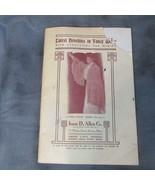 ca. 1880 Isaac Allen Co. Boston Catalog Woolen Wear with Directions, 64 ... - $23.36