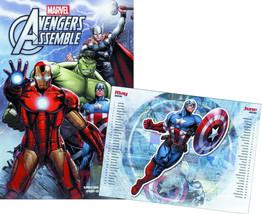 Marvel Comics Avengers Assemble 12 Month 2016 Pop-Up Wall Calendar NEW SEALED - $17.41