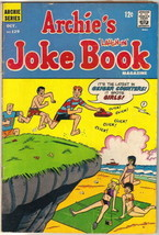 Archie's Joke Book Comic Book #129 Archie Comics 1968 VERY GOOD- - $3.50