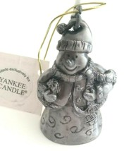 Yankee Candle Snowman Candle Snuffer Extinguisher Winter Christmas Decor - $19.50