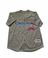 Anthony Rizzo 44 Chicago Cubs w/ 1990 All Star Patch Grey Road Men's Jer... - $197.99