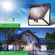 Solar Lights Outdoor, Mitaohoh 82 LEDs Wireless Waterproof Solar Motion Sensor L image 3