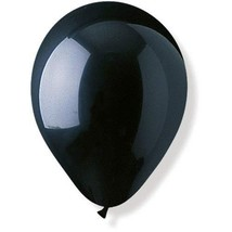 Party Express Crystal Black 11 in Helium Ready Balloons 150 Count Pack - Arch, W - $14.99