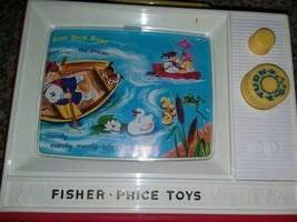 FISHER PRICE Giant Screen Music Box TV 2 Tunes 2009 London Bridge Row Yo... - $15.84