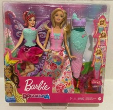 New Barbie Doll dress up Princess, Mermaid and Fairy Gift - $42.34