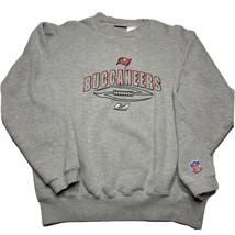 Vintage Reebok Tampa Bay Buccaneers Crewneck Sweatshirt Mens XL Embroide... - $39.53
