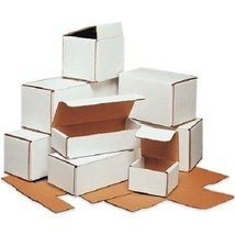 Eight24hours 100 9 x 4 x 3 White Corrugated Shipping Mailer Packing Box ... - $221.00
