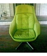 Vintage Original Danish Mid-Century H. W. Klein Bramin Swivel Lounge Chair - $9,500.00