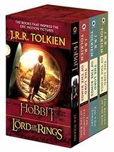 J.R.R. Tolkien 4-Book Boxed Set: The Hobbit and The Lord of the Rings To... - $12.59