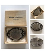 Vintage 1972 Eisenhower Dollar Coin  Western Belt Buckle A2353 - $29.35