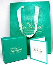 White Gold Earrings 750 18K, Flower, Emeralds 0.81 Ovals, Diamonds, Italy Made image 4