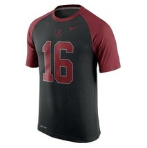 Mens Nike Alabama Crimson Tide Black Dri-fit Performance Tee 30% Off $40... - $27.99