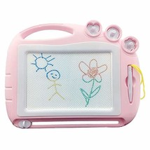 Magnetic Drawing Board Travel Size,Erasable Magna Doodle Sketching (Ligh... - $17.51