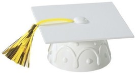 White Graduation Cap with Tassel Cake Topper - $2.67 CAD