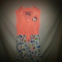 Hello Kitty Lg. 10-12 Girls Dress - $7.70