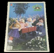 Vintage 1984 Milton Bradley Cabbage Patch Kids 25 Pieces Puzzle Doll in car - $23.01