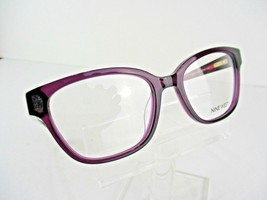Nine West NW 5113 (515) Plum Crystal 52 x 17 135 mm Eyeglass Frames - $58.87