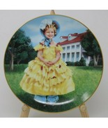 The Danbury Mint Shirley Temple Collector Plate The Little Colonel Vintage - $23.27
