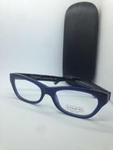 New Coach Eyeglasses Frames Hc 6045 5163 Dahlia NAVY/DK Tortoise 51-18-135 - $36.64