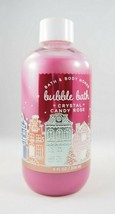 (1) Bath & Body Works Crystal Candy Rose Holiday Bubble Bath 8oz Red Pink - $12.95