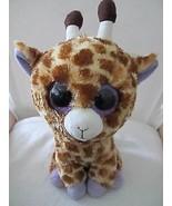 "Ty Beanie Boos SAFARI the Giraffe 9"" size NON-Shiny Feet Big Eyes! Retired! - $10.39"