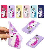 Crystal Glitter Diamond Shell Silicone Bumper Soft Back Case Cover for i... - $6.23