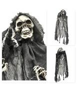 Halloween Ghoul Ghost Spooky Hanging Prop Skull Decoration Graveyard Ske... - $35.59