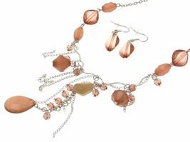 Beaded Necklace Beaded Jewellery Plastic Bead Jewellery AW37  - $12.90