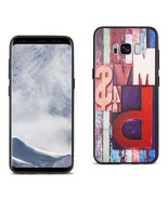 Reiko Samsung Galaxy S8 Embossed Wood Pattern Design TPU Case With Multi... - $9.40